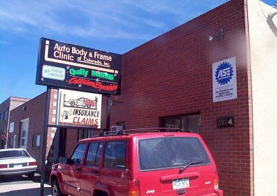 Auto Body & Frame Clinic Shop